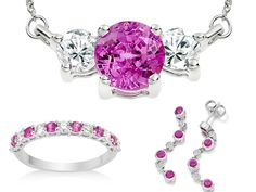 http://www.vashi.com/blog/2014/11/03/wedding-jewellery-colours-say/  #pink #diamonds #pinksapphires #jewellery