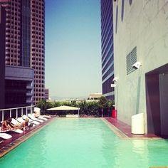 Los Angeles Hotels   The Standard, Downtown LA - Exterior   Downtown Los Angeles Hotel.  www.facebook.com/...