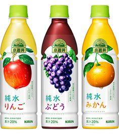 Juice Branding, Juice Packaging, Beverage Packaging, Bottle Packaging, Cosmetic Packaging, Fruit Juice Brands, Japanese Packaging, Chocolate Packaging, Fruit Drinks