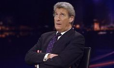 Jeremy Paxman on the set of Newsnight in 2006.