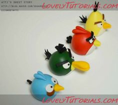 clay angry birds + tutorial