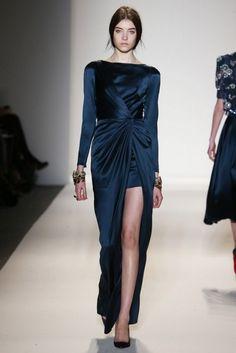 Модные вечерние платья осень 2013