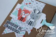 Yvonne is Stampin' & Scrapping: Stampin' Up! Foxy Friends year planner #stampinup