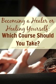 Considering online shamanic training courses or working on healing yourself through online guided healing courses? These are the paths recommended by Sarah Petruno, Shaman of SarahPetrunoShamanism.com