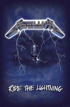 Rock Posters, Band Posters, Concert Posters, Metallica Tattoo, Metallica Art, Metallica Cover, Heavy Metal Music, Heavy Metal Bands, Metal Meme