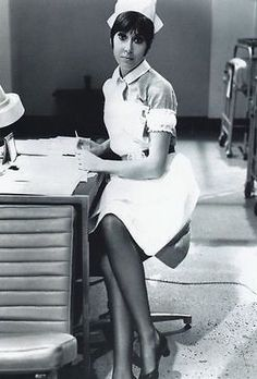 Anita Harris in Carry On Doctor.