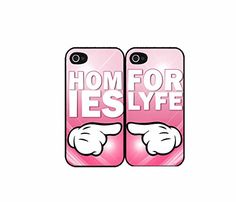 Homies For Lyfe bff Set of 2 Best Friend Plastic Phone Case Back Covers iPhone 5c Bleu Reign Inc http://www.amazon.com/dp/B00KU40KNI/ref=cm_sw_r_pi_dp_ONI.tb0W6AGAE