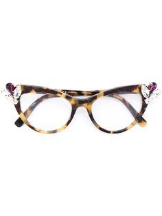 Dsquared2 embellished cat eye glasses