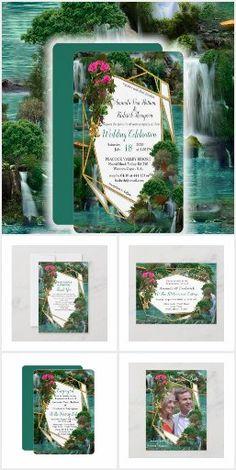 Today Holiday, Lake Signs, Magical Wedding, Greenery, Wedding Invitations, Tropical, Collections, Fantasy, Fantasia
