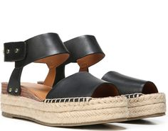 fbb99fb8a4996 Play with texture in this beautifully crafted espadrille sandal. Leather or  suede upper. Peep toe