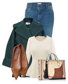 """Untitled #13664"" by nanette-253 ❤ liked on Polyvore featuring White Stuff, Carven and River Island"