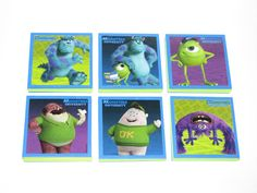 Monsters University Note Pads Set of 6  Excellent by JustForYou22, $7.50