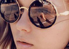 Big Round Sunglasses - http://wheretoget.it/look/51303