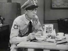 Andy Griffith Grape-Nuts Cereal - Classic TV Commercial