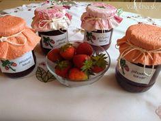 Jahodový lekvár s citrónom a rumom (fotorecept) - Recept Raspberry, Strawberry, Rum, Anna, Food, Essen, Strawberry Fruit, Meals, Raspberries