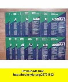 Package of 14 McDougal Littell Algebra 2 Chapter Resource  (Chapters 1-14) Ron Larson, Lauries Boswell, Lee Stiff, Timothy D Kanold ,   ,  , ASIN: B003X090YG , tutorials , pdf , ebook , torrent , downloads , rapidshare , filesonic , hotfile , megaupload , fileserve
