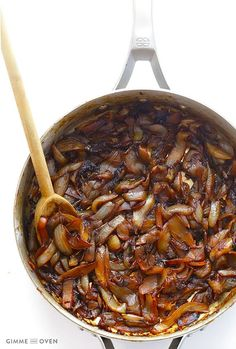 easy recipes - Caramelized Onions Gimme Some Oven New Recipes, Cooking Recipes, Favorite Recipes, Onion Recipes, Sauce Recipes, Cooking Tips, Easy Recipes, Vegetable Recipes, Vegetarian Recipes