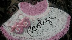 Crochets infant dress