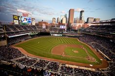 Stop thinking about the cold and the snow currently surrounding Minnesota and start thinking about fun in the sun at Target Field this summer! Affordable single-game tickets are available now!
