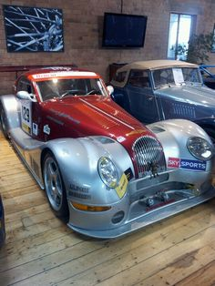 Morgan cars - Malvern -