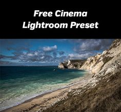 Free Cinema Lightroom Preset - give your photos a cinematic look with this preset. Compatible with Lightroom 4 and newer