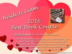 #OliviaHutchinson #2016 #BestBookCouple
