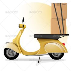 "Express Delivery  ... <p>The ""Express delivery"" contains eps10.0 and adobe illustrator cs5 files.</p> box, deliver goods, delivery, express, goods, moto, motorcycle, package, transportation, vector, vespa"