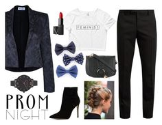 """Prom Like a Boss"" by wearyourdissent ❤ liked on Polyvore featuring The Bee's Sneeze, ALDO, Yves Saint Laurent, See by Chloé, NARS Cosmetics, Olivia Burton and feminist"