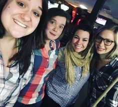 A day late but our love is all the same! Our #wcw goes out to these plaid clad beauties seen here shooting some pool after work! #workhardplayhard #echocharleston