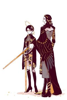 Loki & Levi AU / Shingeki no Kyojin Crossover by Culinbear