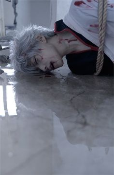 kuryu Gintoki Sakata Cosplay Photo