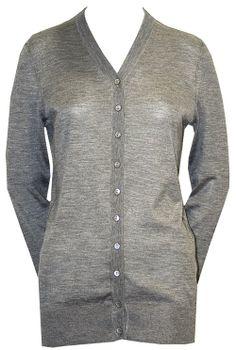 Long Grey Cardigan - Dolce & Gabbana  http://www.room7.co.uk/what-s-new/dolce-grey-knitwear.html