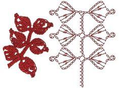Image Article – Page 334603447308826136 Appliques Au Crochet, Crochet Collar Pattern, Crochet Leaf Patterns, Crochet Bee, Crochet Leaves, Freeform Crochet, Crochet Diagram, Crochet Bunny, Crochet Chart