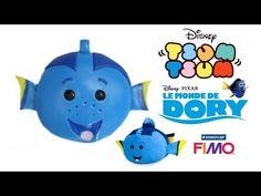 Finding Dory Disney Tsum Tsum polymer clay tutorial