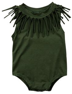 SALE 50% OFF + FREE SHIPPING! SHOP Our Tassel Sleeveless Romper for Baby & Toddler Girls