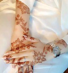 Khafif Mehndi Design, Rose Mehndi Designs, Finger Henna Designs, Wedding Mehndi Designs, Mehndi Designs For Fingers, Henna Tattoo Designs, Modern Henna Designs, Latest Henna Designs, Mehndi Designs For Beginners