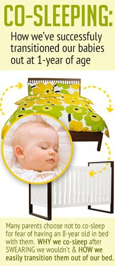 Easily transition baby from co-sleeping to their own bed