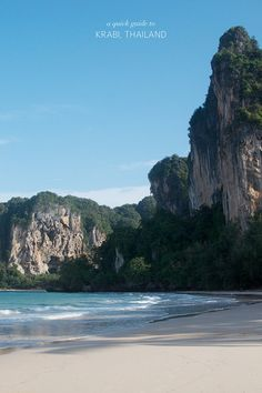 TRAVEL: A QUICK GUIDE TO KRABI-thailand