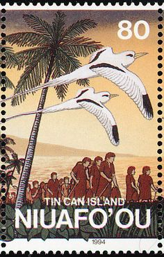 White-tailed Tropicbird stamps - mainly images - gallery format