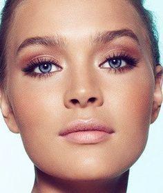 Oogschaduw Blauwe ogen - Roest Koper -
