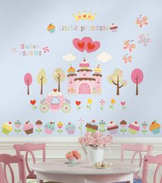 Happi Cupcake (sticker murale) Decalcomania da muro su AllPosters.it