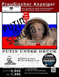 Preußischer Anzeiger (Aug. Aug/Sept 2014) --- TITELTHEMA: Putin unter Druckder USA-EU-Russische Konflikt –