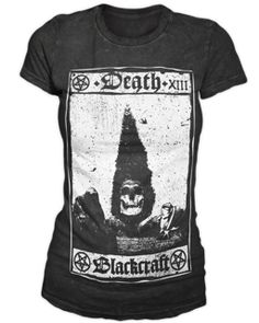 Death Card - Women's Tee | Black Craft
