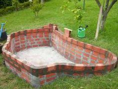 Small Backyard Pools, Backyard Pool Designs, Small Pools, Swimming Pools Backyard, Swimming Pool Designs, Pool Landscaping, Ideas Estanque, Piscina Diy, Outdoor Wall Fountains