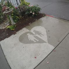 Rainworks Invisible Spray lets you make rainworks, invisible pieces of street art that appear when it rains.
