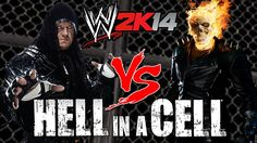 Guys today I have a pretty sick match in WWE We have Undertaker VS Ghost Rider! Oh and I forgot to tell you they will be fighting in a Hell in a Cell. Wwe 2k14, 2k Games, Android Mobile Games, The Cell, Undertaker, Ghost Rider, Videogames, Guys, Movie Posters