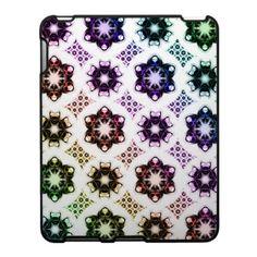 Rainbow Alien Eye Fractal Art Pattern Ipad Skin $56.20