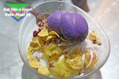 Eat Like a Local: Cebu Food Trip and Must-Try Freedom Wall, Halo Halo, Like A Local, Cebu, Ice Cream, Dining, Desserts, Food, No Churn Ice Cream