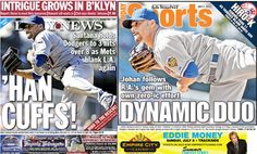 Game 79. 6/30/12. Back covers of the NY papers after yesterday's win! metsblog.com