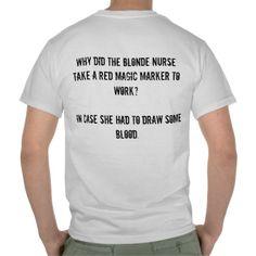 funny blonde jokes cute t shirt